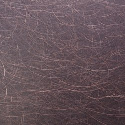 Nordic Brown | 1150 | Angelhair longline glossy | Plaques de métal | Inox Schleiftechnik
