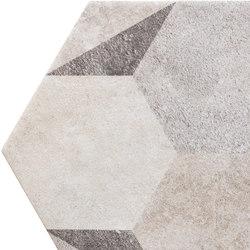 Bibulca | Esagona Classic 21x18 cm | Keramik Fliesen | IMSO Ceramiche