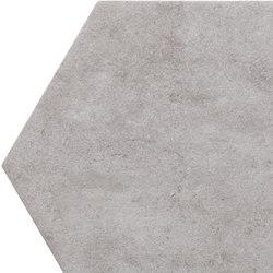 Bibulca | Esagona Grey 21x18 cm | Keramik Fliesen | IMSO Ceramiche