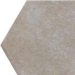 Bibulca | Esagona Taupe 21x18 cm | Carrelage céramique | IMSO Ceramiche