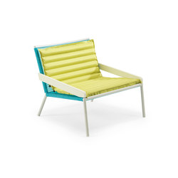 Allaperto Camping chic Lounge armchair with Cushion | Sillones | Ethimo