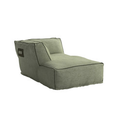 Soft Modular Sofa Dormeuse Right Version | Méridiennes de jardin | Atmosphera