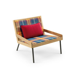 Allaperto Mountain Lounge armchair with Cushion | Sessel | Ethimo