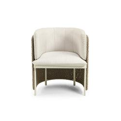 Esedra Dining armchair | Sillas | Ethimo