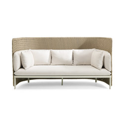 Esedra 3 seater high back sofa | Sofás | Ethimo