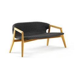 Knit 2 seater sofa | Gartensofas | Ethimo