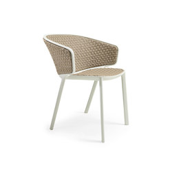 Pluvia Dining armchair | Chairs | Ethimo
