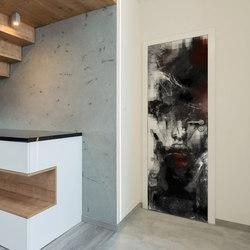 Doorpaper | Kiss | Wall art / Murals | INSTABILELAB