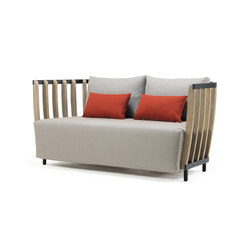 Swing 2 seater sofa | Sofas | Ethimo