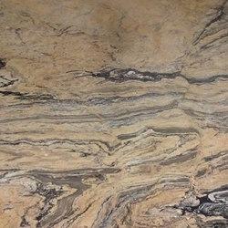 Scalea Granite Prahada Gold | Mineralwerkstoff Platten | Cosentino