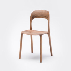 Elle Chair - Solid Wood Seat | Chaises | MS&WOOD