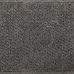 Italghisa | Impronte Antracite 45x90 cm | Lastre ceramica | IMSO Ceramiche