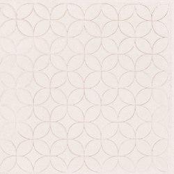 Karman Ceramica Decorata Singolo Floreale Avorio | Keramik Fliesen | EMILGROUP