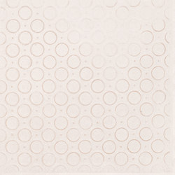 Karman Ceramica Decorata Singolo Geometrico Avorio | Keramik Fliesen | EMILGROUP
