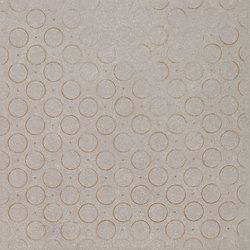 Karman Ceramica Decorata Singolo Geometrico Cenere | Ceramic tiles | EMILGROUP