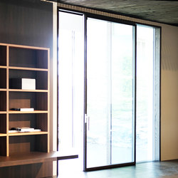 Ghost Wood minimal sliding door | Portes-fenêtres | ISAM