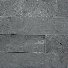 Pietre Da Rivestimento | Spaccatello Nero 10x35 cm | Piastrelle pietra naturale | IMSO Ceramiche