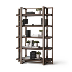 4225/16 bookcase | Shelving | Tecni Nova