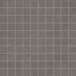 Karman Mosaico Antracite | Ceramic mosaics | EMILGROUP