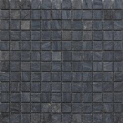 Sassi | Nero Mosaico 30x30 cm | Mosaïques en pierre naturelle | IMSO Ceramiche