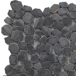 Sassi | River Dark 30x30 cm | Mosaïques en pierre naturelle | IMSO Ceramiche