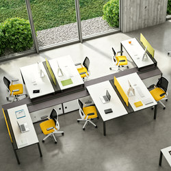 X4 | Cloisons pour table | Quadrifoglio Group