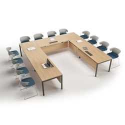 Idea+ | Multimedia conference tables | The Quadrifoglio Group