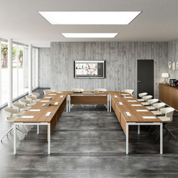 Cove | Multimedia conference tables | The Quadrifoglio Group