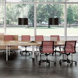 Dinamica | Multimedia conference tables | The Quadrifoglio Group