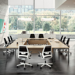 Oxygen | Multimedia conference tables | The Quadrifoglio Group