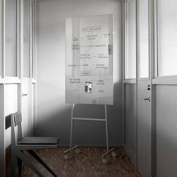 Mono tableau en verre mobile | Flip charts / Writing boards | Lintex