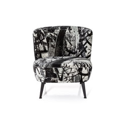 Gimme Shelter Side chair | Poltrone | Diesel with Moroso