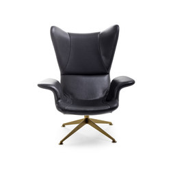 Longwave Swivel armchair | Poltrone | Diesel with Moroso
