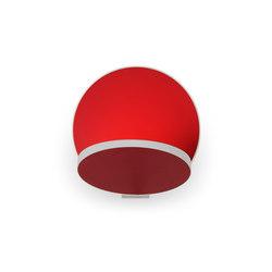 Gravy LED Wall Sconce - Matte Red | Lampade parete | Koncept