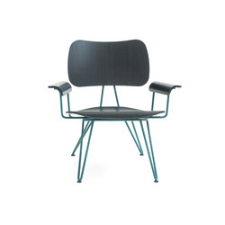 Overdyed Lounge Chair | Poltrone | Diesel with Moroso