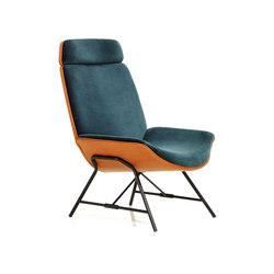 Melange Loungechair | Poltrone | Wittmann