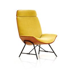 Melange Loungechair | Armchairs | Wittmann