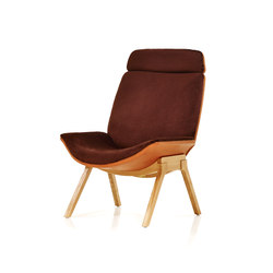 Melange Loungechair | Lounge chairs | Wittmann