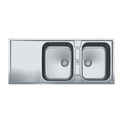 Maris Sink MRX 221 Stainless Steel | Kitchen sinks | Franke Kitchen Systems