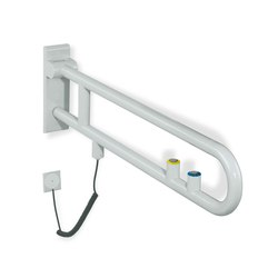 Hinged support rail, rotatable | 801.50.500 | Grab rails | HEWI