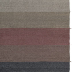Mustache RE—02 Terracotta brown | Outdoor rugs | Kristalia