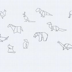 Origami | Wandbilder / Kunst | INSTABILELAB