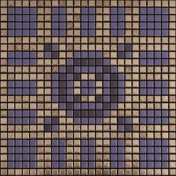 Memoria Luce MEMOD03 beige violett | Mosaïques céramique | Appiani