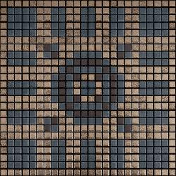 Memoria Luce MEMOD05 beige blau | Mosaïques céramique | Appiani