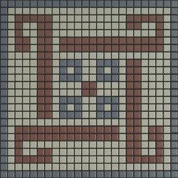 Memoria Ombra MEMOA12 blau braun | Ceramic mosaics | Appiani