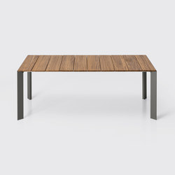 Nori Slatted | Dining tables | Kristalia