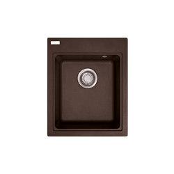 Maris Sink MRG 610-42 Fragranite Dark Brown | Kitchen sinks | Franke Kitchen Systems