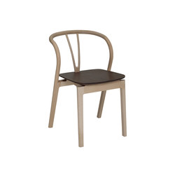 Flow | dining chair with walnut seat | Stühle | ercol