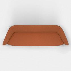 Tuile 3-seat sofa | Sofás | Kristalia