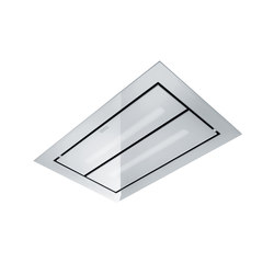Maris Up and Down Hood FCUD 904 C WH RF UD Stainless Steel-Glass White | Kitchen hoods | Franke Kitchen Systems